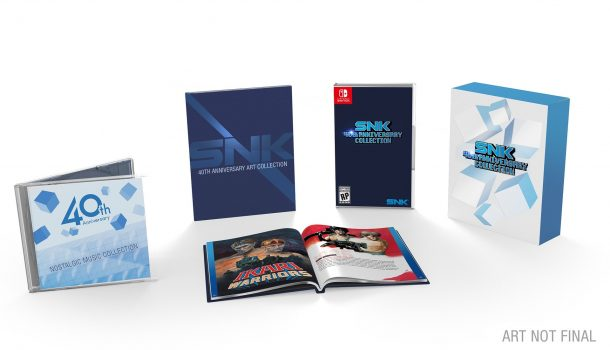 SNK 40th Anniversay | Limited Edition
