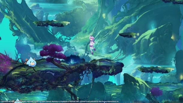 Super Neptunia RPG | Jumping