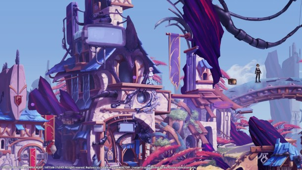 Super Neptunia RPG | Town