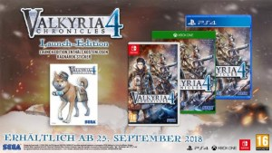 Valkyria Chronicles 4 | EU and UK Launch Edition