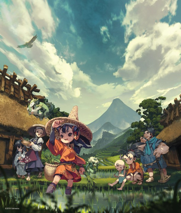 Sakuna: Of Rice and Ruin | Key Art