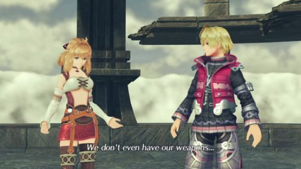 Xenoblade Chronicles 2 | Shulk and Fiora