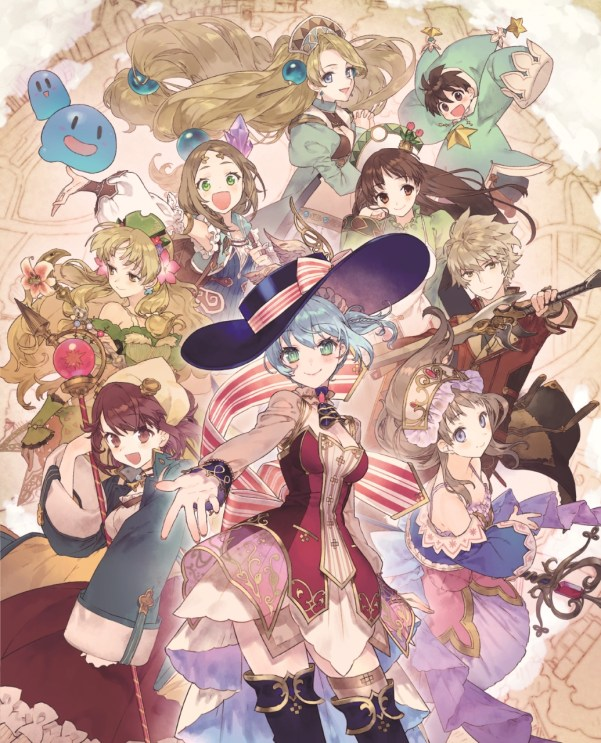 Nelke & the Legendary Alchemists | Main visual
