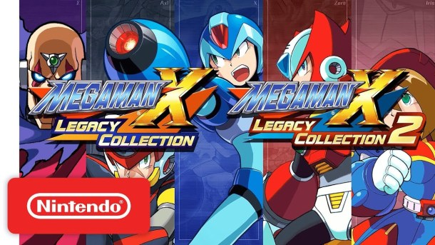 Nintendo Download | Mega Man X Legacy Collections