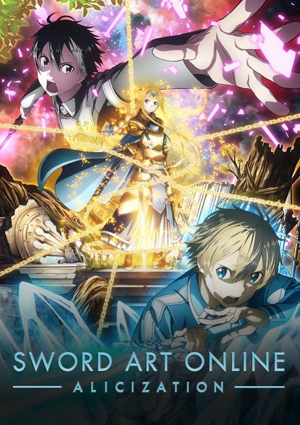 Sword Art Online: Alicization   Key Visual
