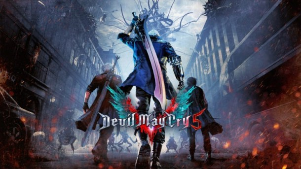 Devil May Cry 5 | Key Art