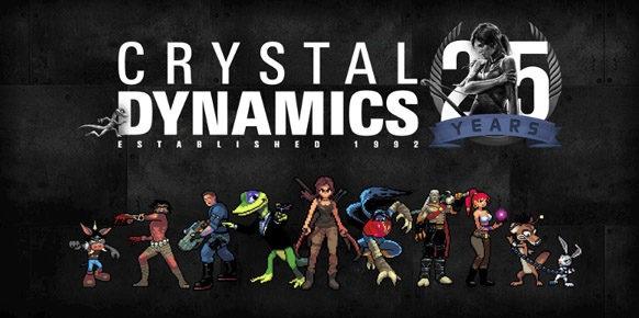 Crystal Dynamics | Franchises over time