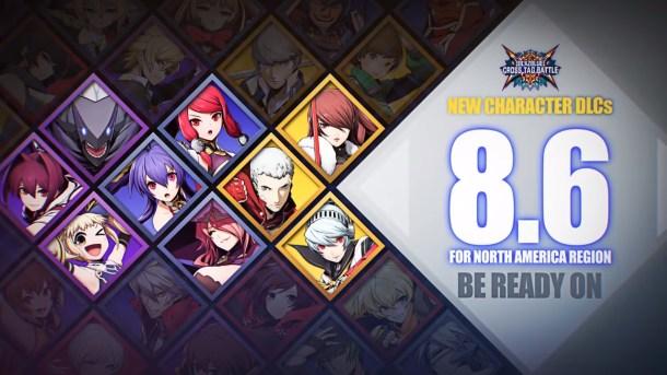 BlazBlue Cross Tag Battle | DLC Packs Release Date