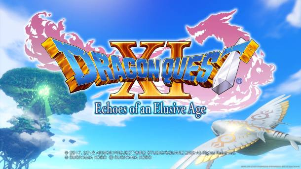 Dragon Quest XI Title Screen