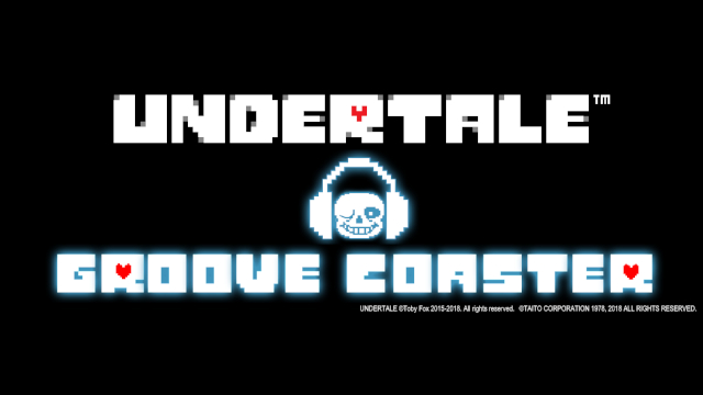 groove coaster is getting a new undertale themed dlc oprainfall