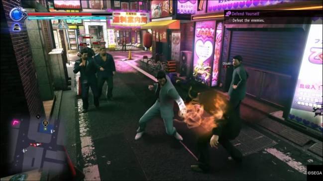 Yakuza Kiwami 2   Punch