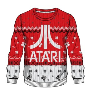 Atari: Red Button, White Christmas sweater