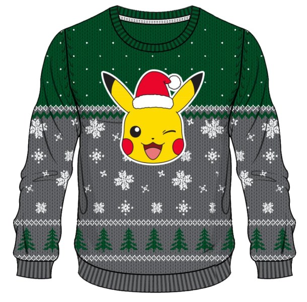 Pokemon: All I want for Christmas is Chu sweater
