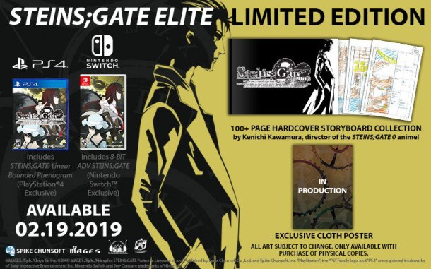 Steins;Gate Elite | Limited Edition