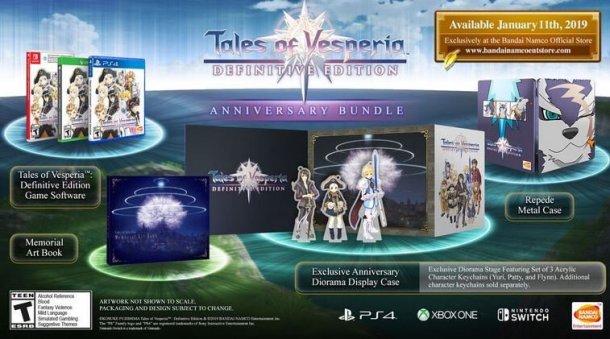 Tales of Vesperia: Definitive Edition | Anniversary Bundle