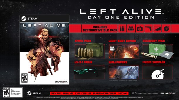 LEFT ALIVE | Steam Day 1 Edition