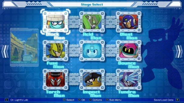 Mega Man 11 | Stage Select