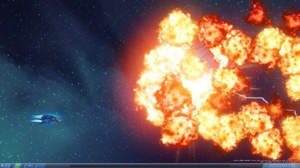 Rigid Force Alpha | Boss Explodes