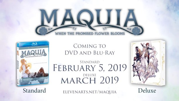 Maquia | Home Video Release Dates