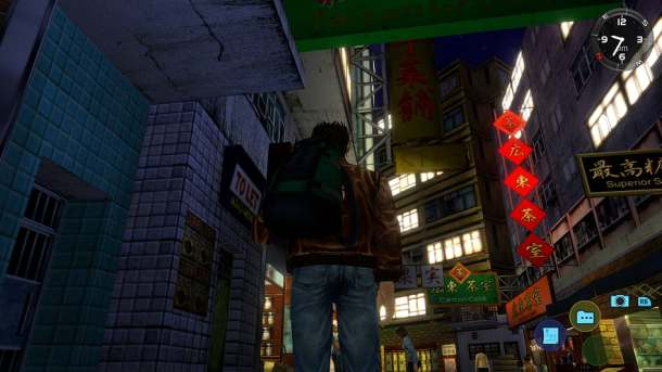 Shenmue II | Wan Chai at Night