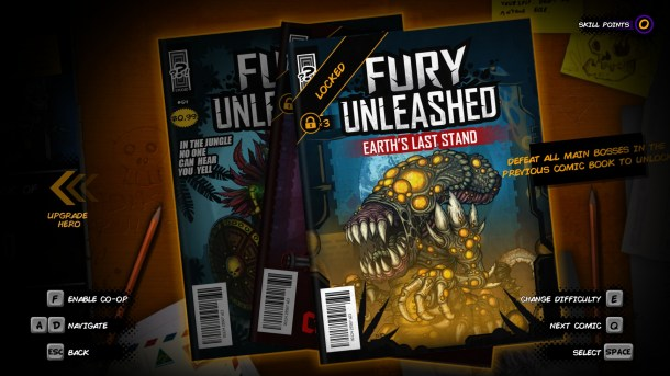 Fury Unleashed | Campaign Select