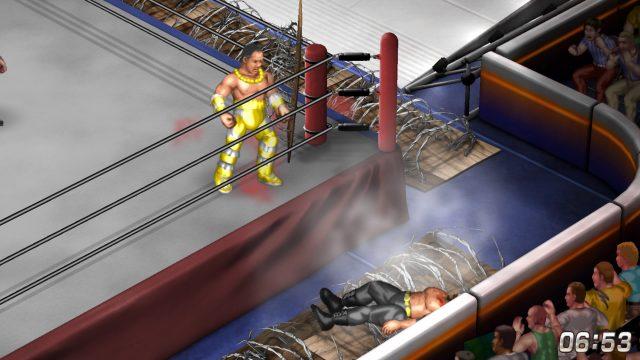 Fire Pro Wrestling World | Landmine Deathmatch