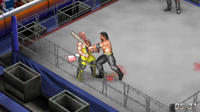 Fire Pro Wrestling World | Barbed Wire Deathmatch