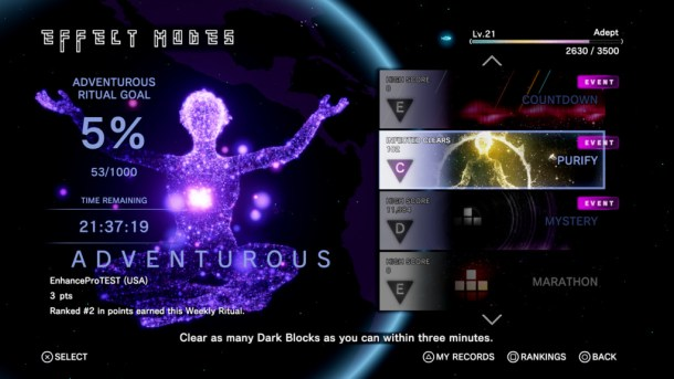 Tetris Effect | Adventurous