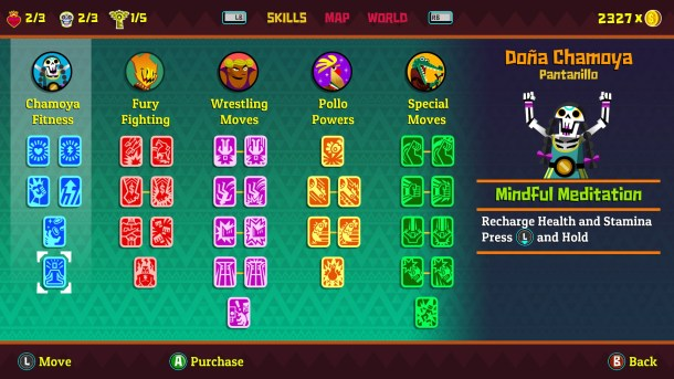 Guacamelee! 2 Skill Trees