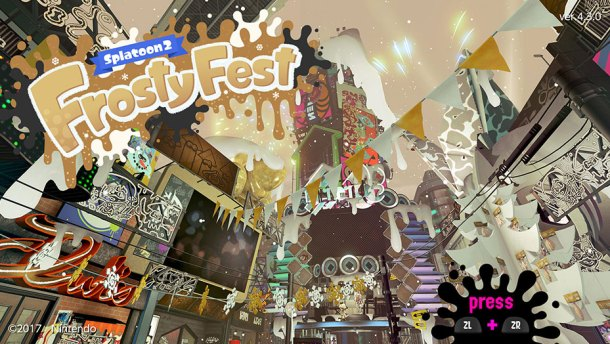 Nintendo Download | Splatoon 2 Frosty Fest