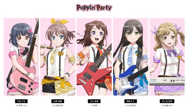 BanG Dream! 2nd Season | Poppin'Party