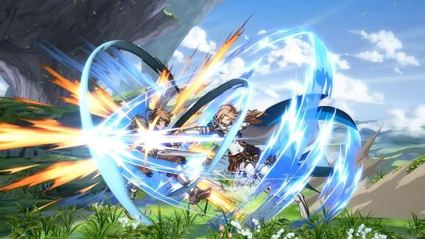 Granblue Fantasy Versus | Katalina attacking