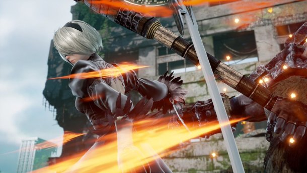Soulcalibur VI | 2B in-game
