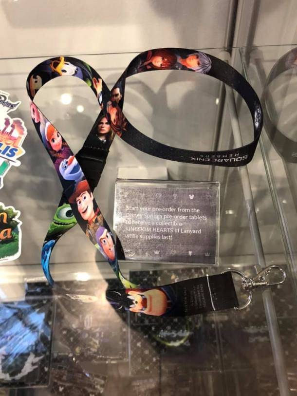 KINGDOM HEARTS III | exclusive lanyard
