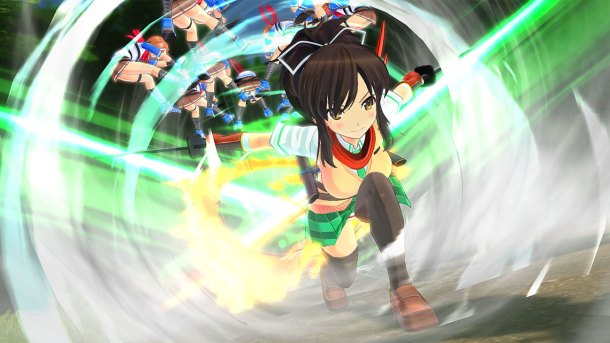 Senran Kagura Burst Re:Newal originally released on the Nintendo 3DS.