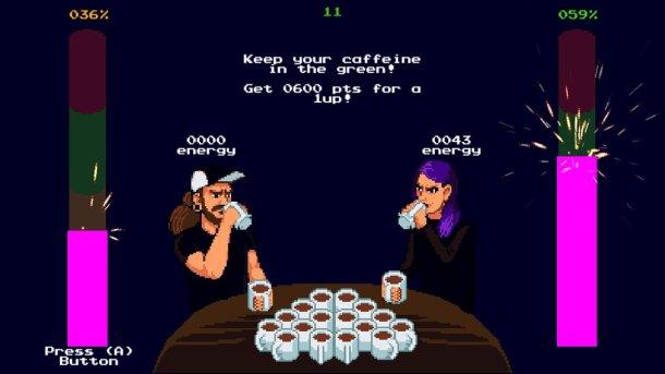 Coffee Crisis | Minigame