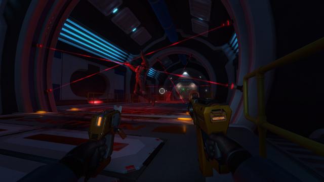Downward Spiral: Horus Station | Laser Trap
