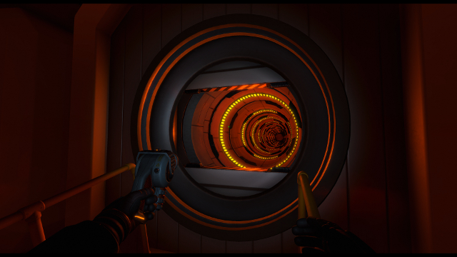 Downward Spiral: Horus Station | Tube Passage