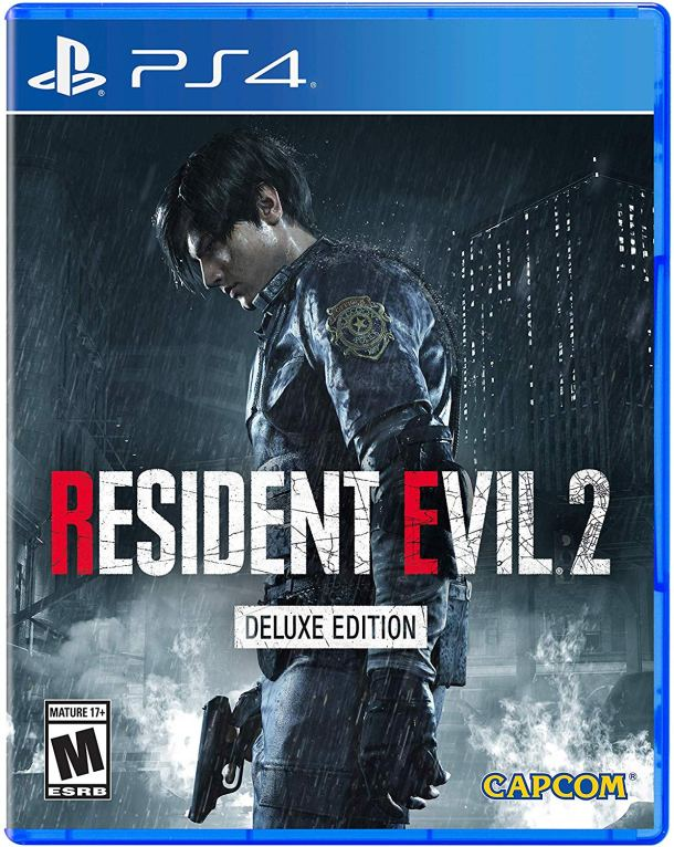 Resident Evil 2 (2019) | PS4 Deluxe Cover