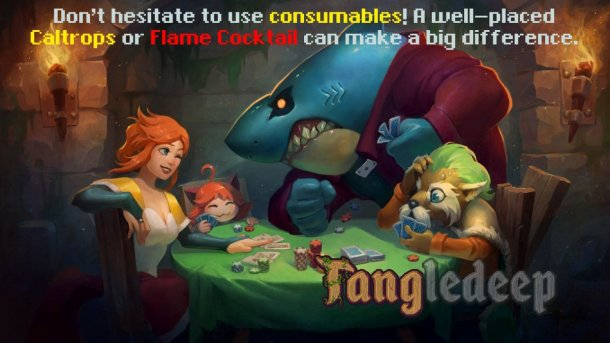 Tangledeep | Poker Loading Screen