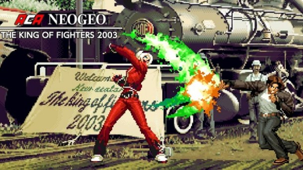 ACA NEOGEO The King of Fighters 2003 Screen