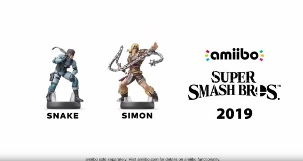 Smash amiibo | Snake and Simon