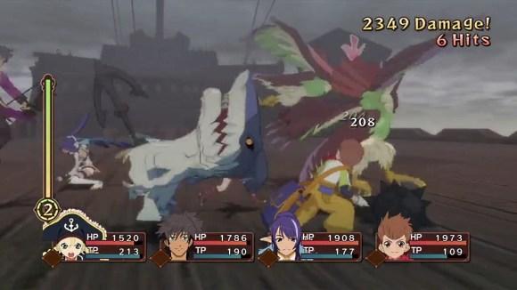 Tales of Vesperia | Battle Gameplay