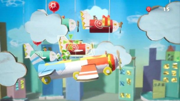 Yoshi's Crafted World | Plane