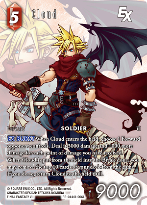 oprainfall | Final Fantasy Trading Card Game