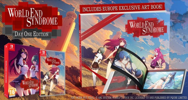 WORLDEND SYNDROME | Artbook Featured