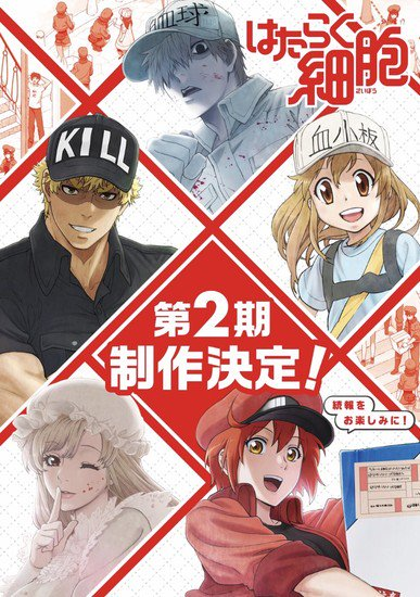 Cells at Work 2 | Kodansha