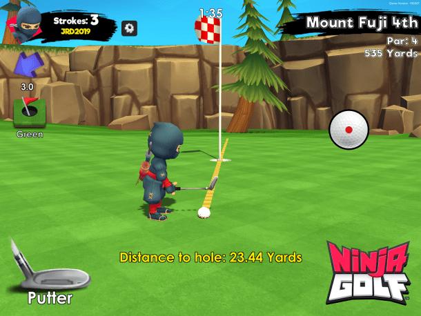 Ninja Golf | Putting