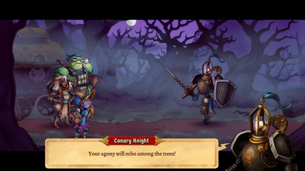 SteamWorld Quest | Canary Knight