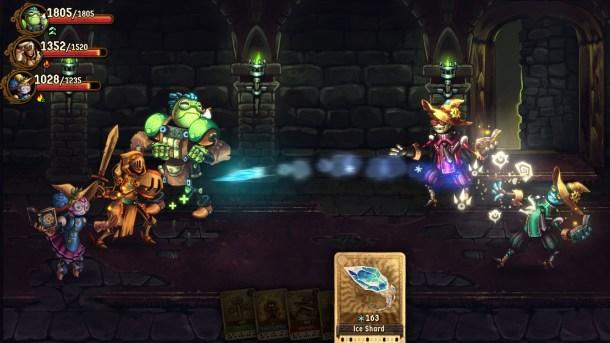 SteamWorld Quest | Ice Attack